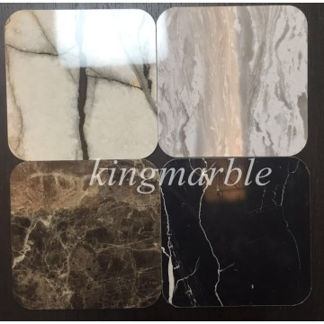 PVC Matrial of  UV Marble sheet