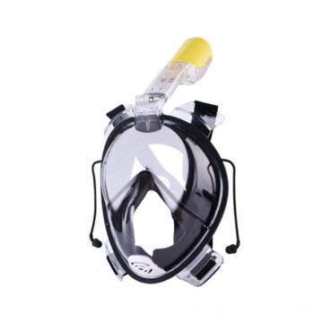 Excellent full face anti fog snorkel mask