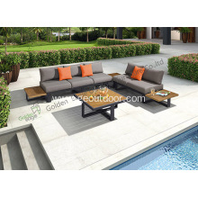 All Aluminum Garden Sofa Patio Furniture