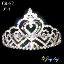Silver Plated Small Tiara Crown For Doll