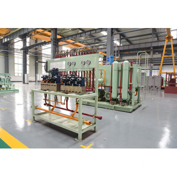 Hydraulic system of hot strip mill