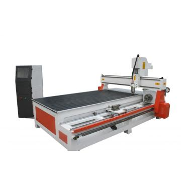 Wood Rotary and Flat carving machine