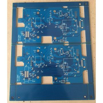 4 layer blue solder PCB with 3 days