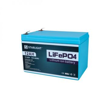 12.8V 12AH LiFePO4 Battery Replace Lead-Acid Battery