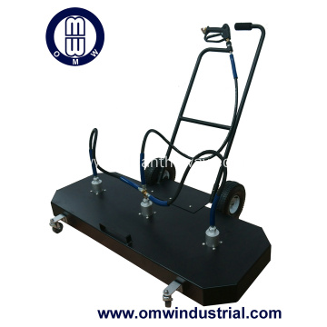 "60"" Aluminum Sidewalk Cleaner"