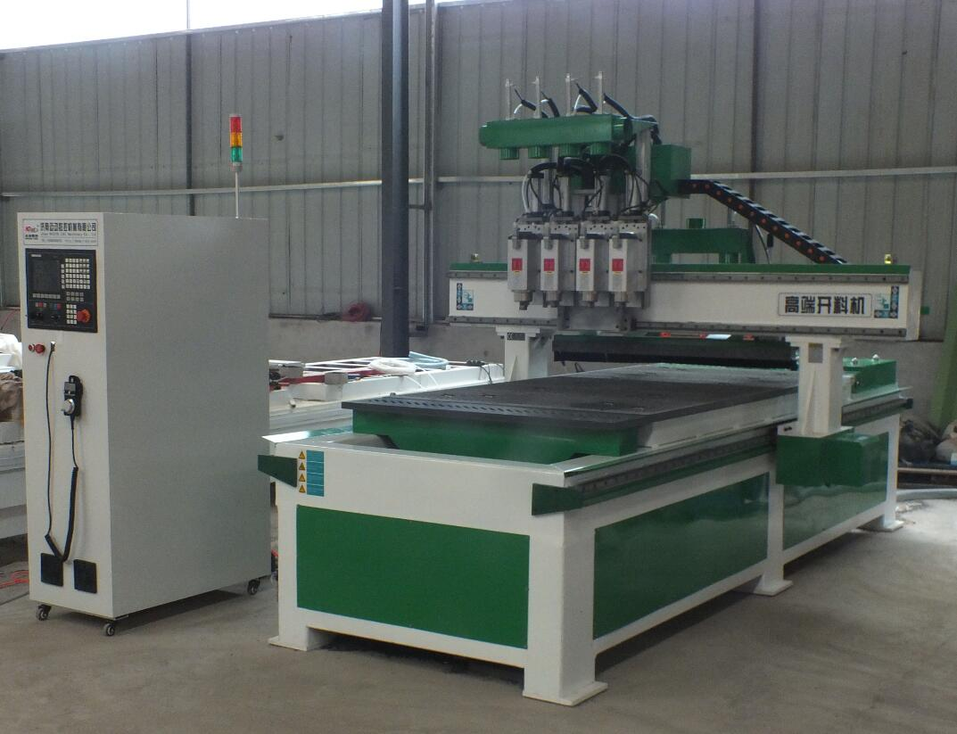 4 heads cnc router machine