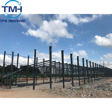 steel structure low cost prefab warehouse construction