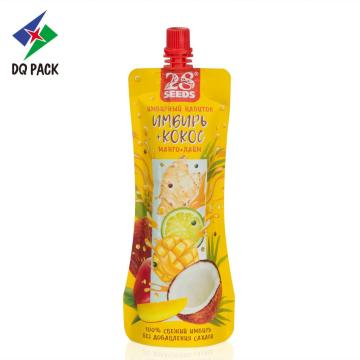 250ml stand up coconut milk spout pouch