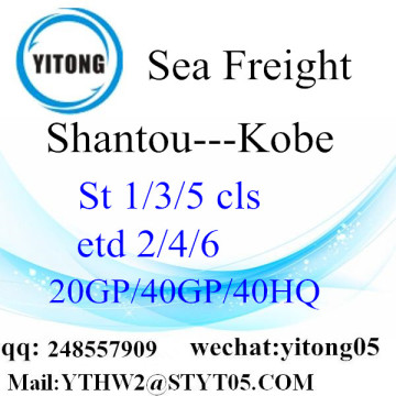 International Shipping Service to Kobe