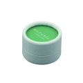 Customized round paper cardbaord face powder boxes