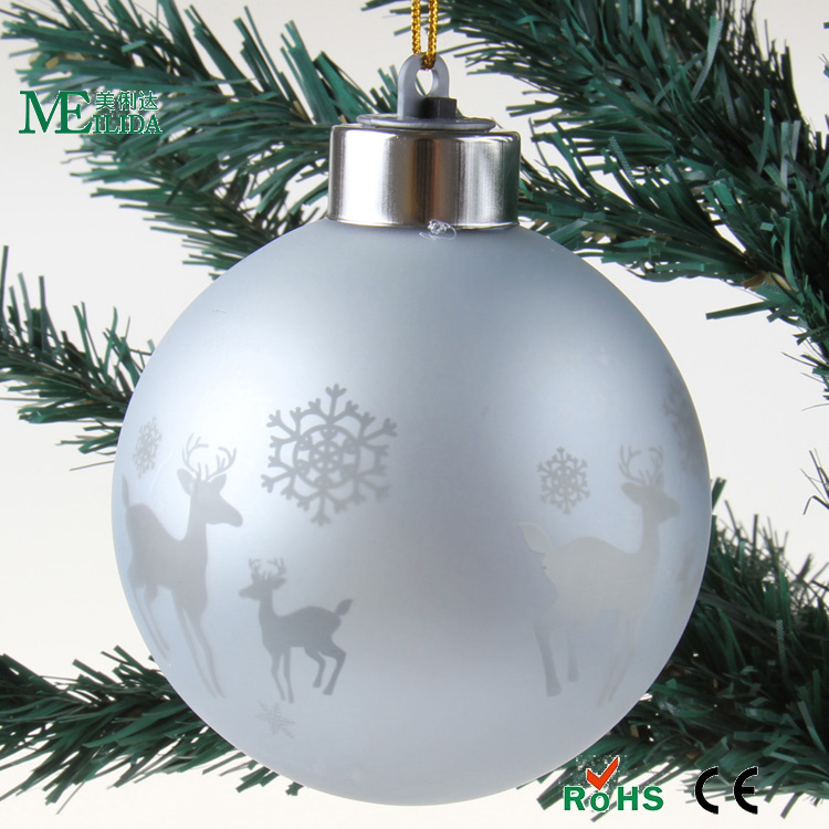 deer laser cut ball