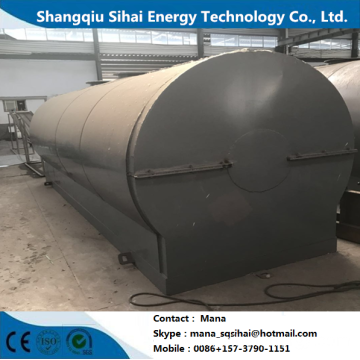 Underground Oil Extraction Distillation Plant