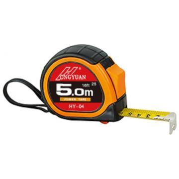 3.5m/5m/7.5m measuring tape rubber coatting