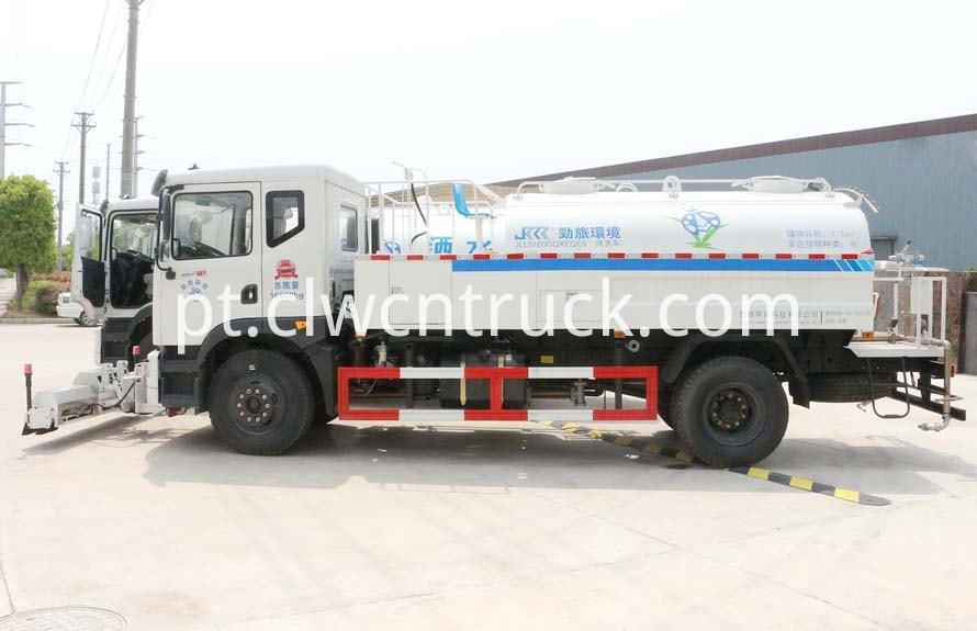 high pressure water jetting truck 1