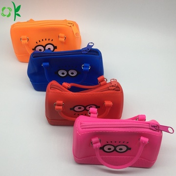 Mini Silicone Handbag Cute Cartoon Coin Purse