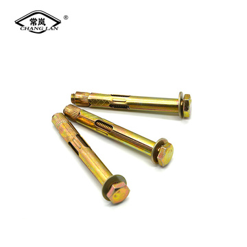 Outer hexagon expansion bolt floor expansion bolt