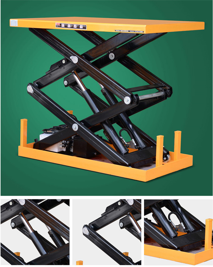Fixed Hydraulic Mini Scissor Lift Table