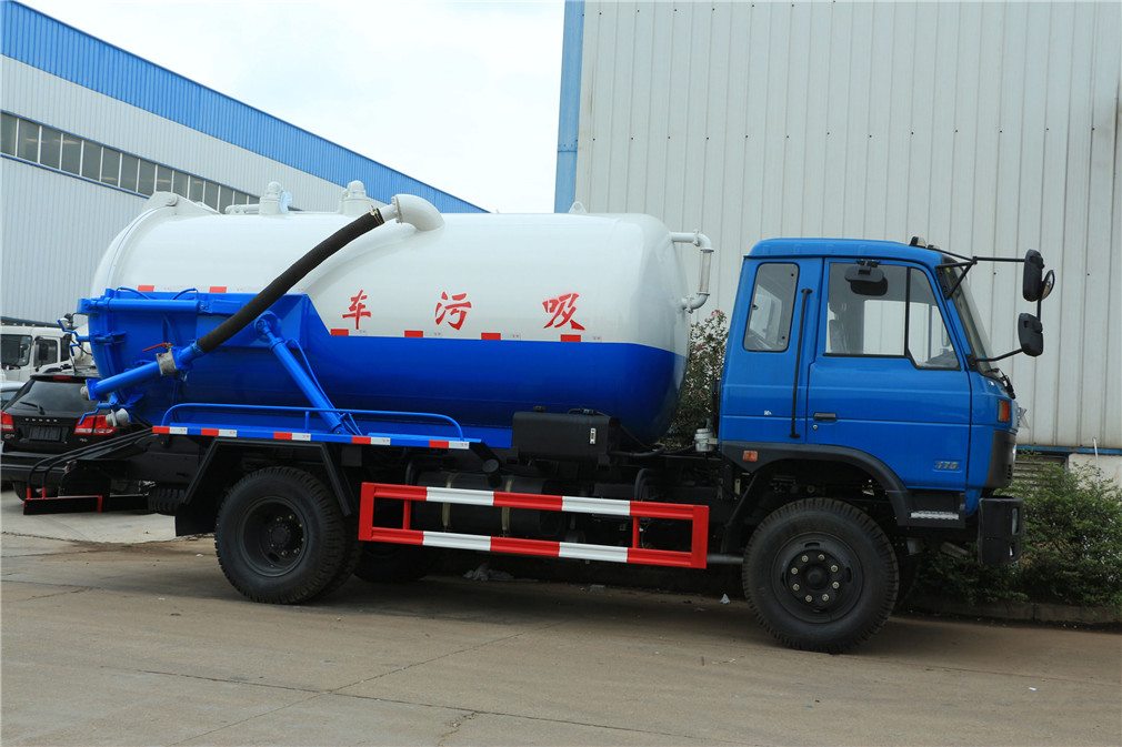 sewage suction truck 2