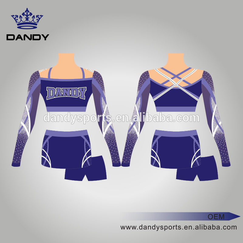 sparkly rhinestone cheer uniform