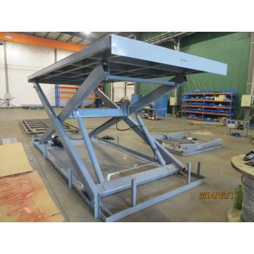Loading equipment lifts hydraulic