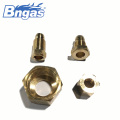 Wholesale brass tube nuts and tube sleeve