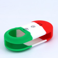 High rank low price car keys holder silicone