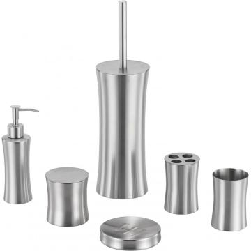 Innovative Stainless Steel Bathroom Accessory Set