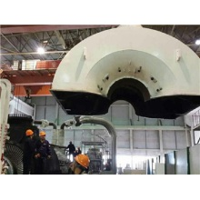 Steam Turbine Installation in Power Plant
