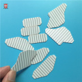 laser cutting scribing zirconia ceramic substrate customized