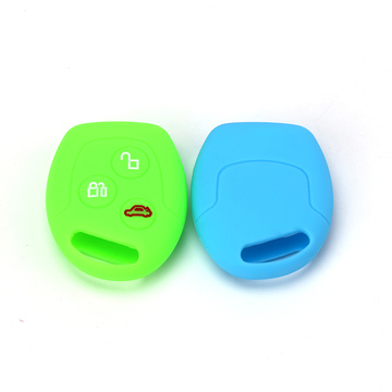 3 Buttons Silicone Remote Car Key Cover