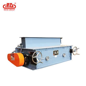 Double Roller Crumble Chicken Feed Pellet Machine