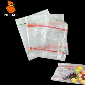 Transparent Woven Bag Snake Skin Nuts Store Packing Agricultural Products Plastic Food Dried Potato Vegetable Fruit Peanut Beans