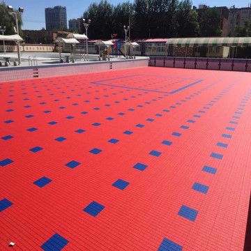 Interlocking Roller Skating Rink Floor Tiles