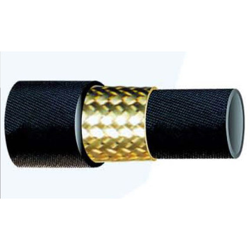 One layer Steel Wire Braided Rubber Pipe