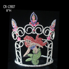 Ocean World Theme Rhinestone Mermaid Pageant Crown