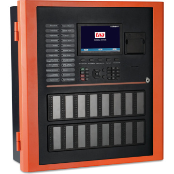 Multi-languages Addressable Fire Detection Alarm System Control Panel