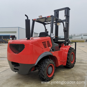 Electric off Road Forklift