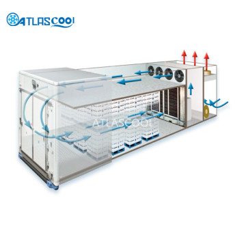 Portable Mobile Containerized Blast Freezer