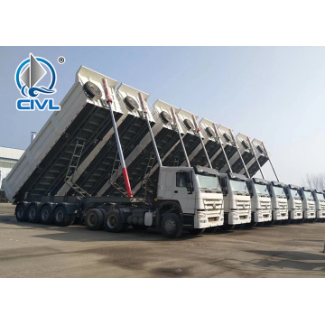 SM153 Semi Trailer 40 ton Dump Tipper