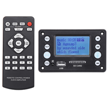 4.2Dc Bluetooth Mp3 Decoder Board Decoding Mp3 Player Audio Module Support Ape Flac Wma Wav Mp3 With Lyrics Display