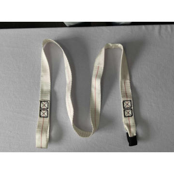 Disposable white flat webbing slings for lifing
