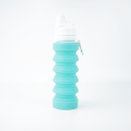 Collapsible Anti Leakage Sports Silicone Water Bottle
