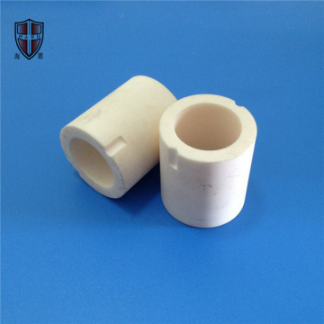 slip casting  alumina ceramic bush tube insulator
