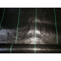 Black Color PP Woven Weed Mat