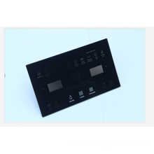 Modern design tempered glass touch switch panel