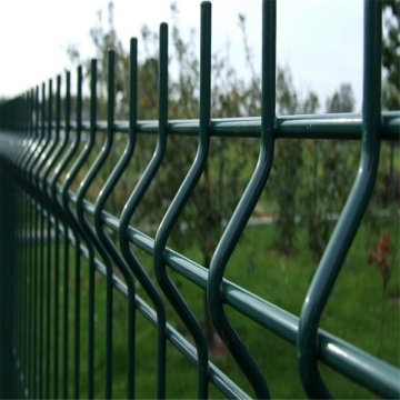 Outdoor PVC Coated 3D Wire Mesh Fence