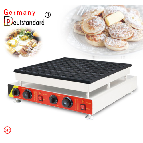 electric mini poffertjes grill with stainless steel