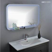 Rectangular LED bathroom mirror MC11