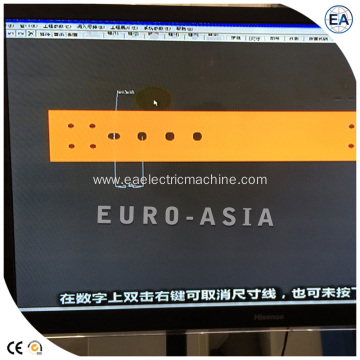 Busbar Punch And Shear Machine