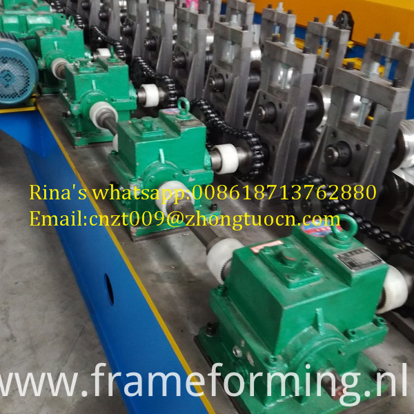 gear box transmission shutter door roll forming machine 2